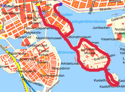 Promenera I Stockholm Kartor Over Fina Promenader I Stockholm